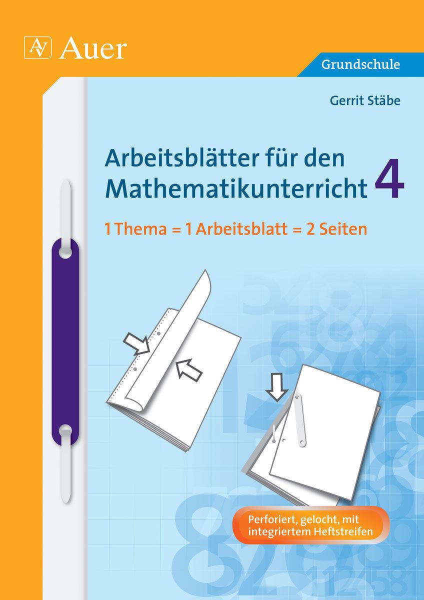 Arbeitsblätter für den Mathematikunterricht 4, Buch, 4. Klasse von ...
