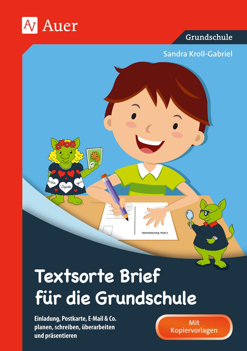 Textsorte Brief Für Die Grundschule Broschüre 2 4 Klasse Von
