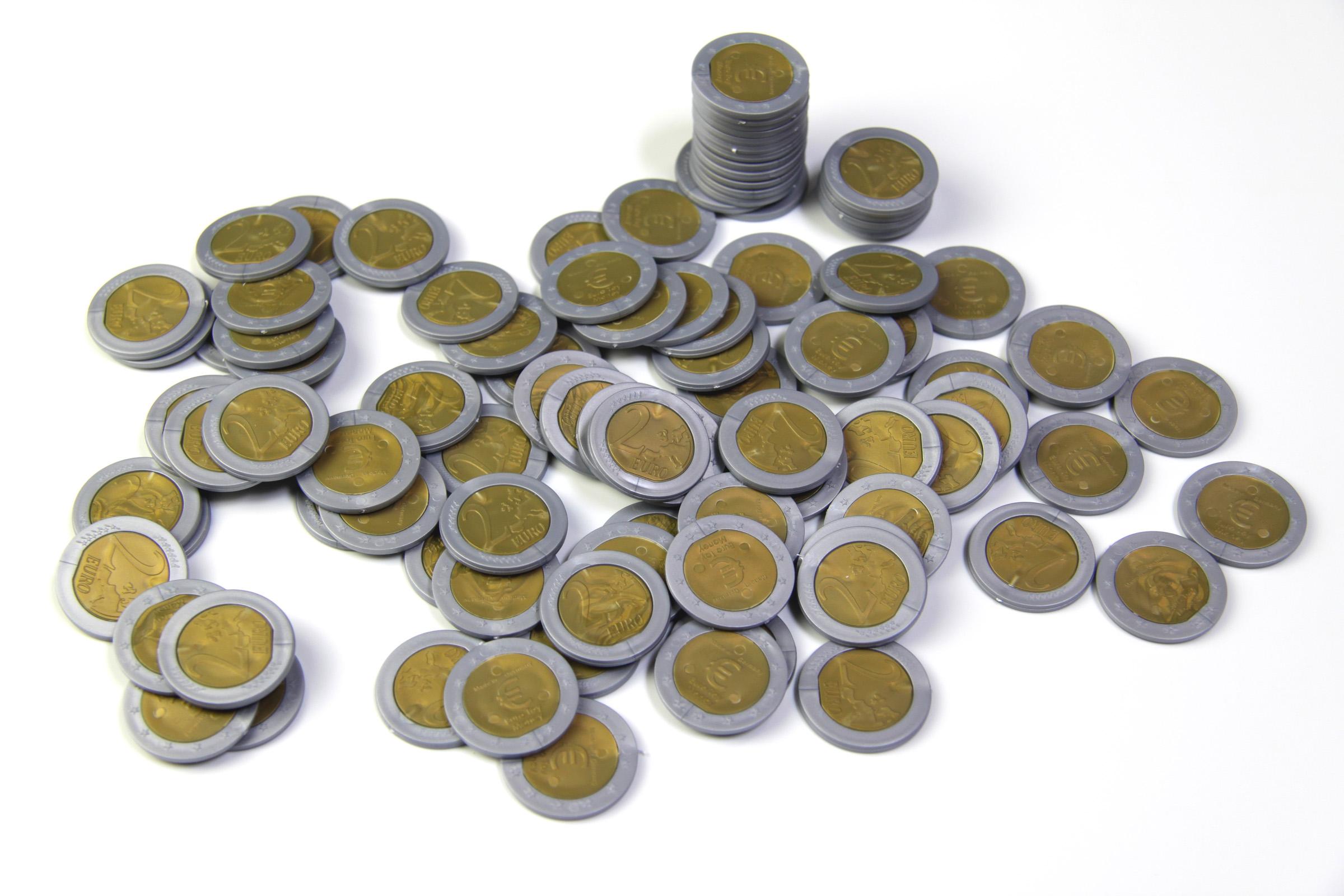 Geld Euro Münzen Spielgeld 2 Euro Von Wissner Aktiv Lernen