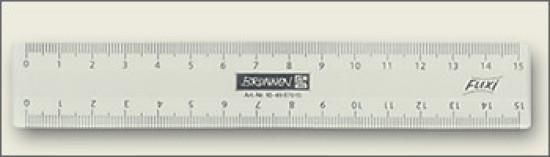 .unbekannt. Flexi-Lineal 15 cm
