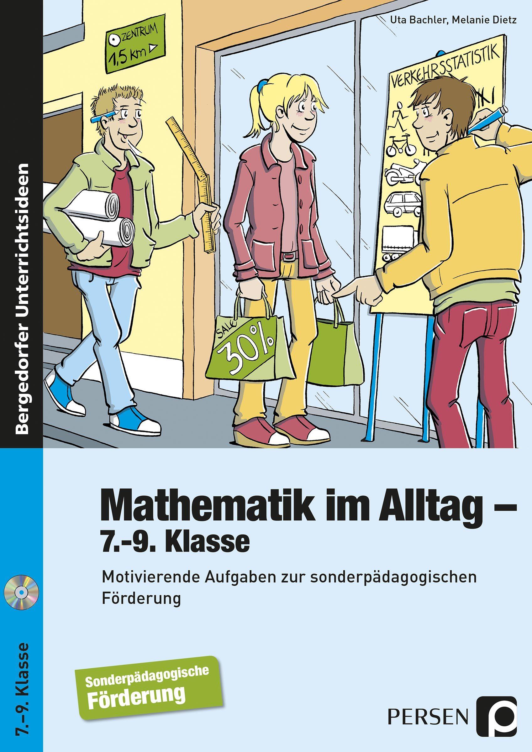Mathematik im Alltag, Buch inkl. CD, 7.-9. Klasse von Persen ...