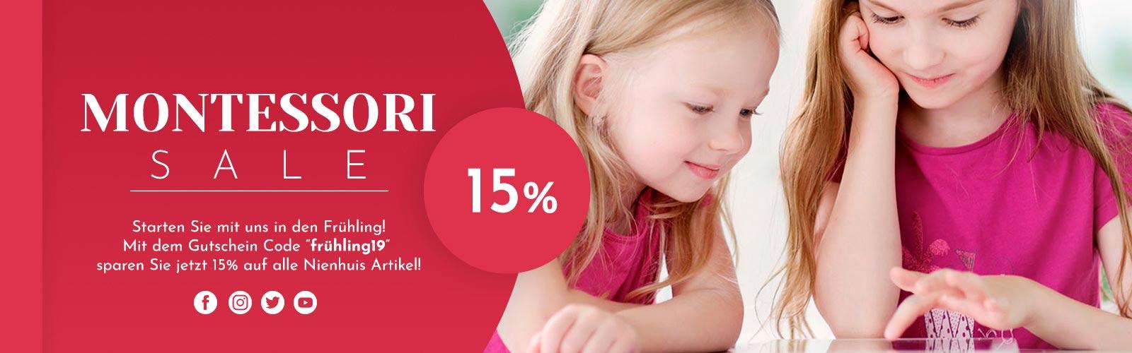 1 ak - 15% Nienhuis Frühlings Sale