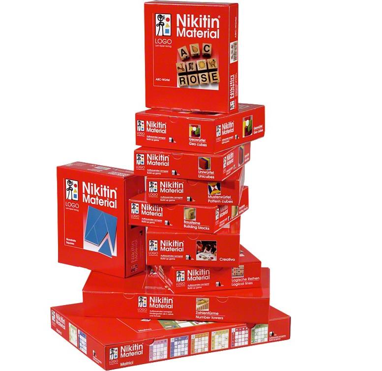 LOGO Nikitin Entwicklungspaket N1-N10 inkl. Buch