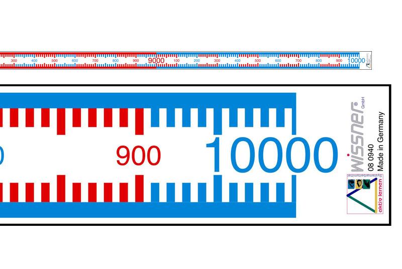 Zahlenstrahl Rechenband 1 10 000 Länge 10 M Von Wissner Aktiv