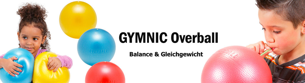 GYMNIC Overball Banner