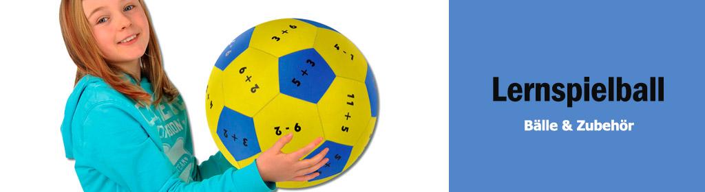Lernspielball Banner