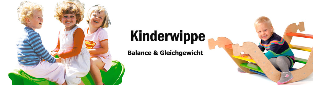 Kinderwippe Banner
