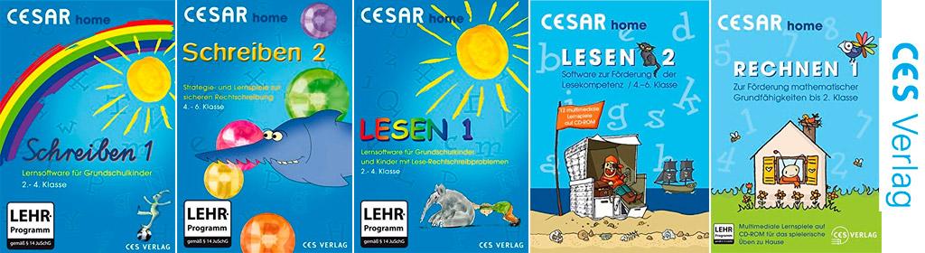 Cesar Lernsoftware Banner