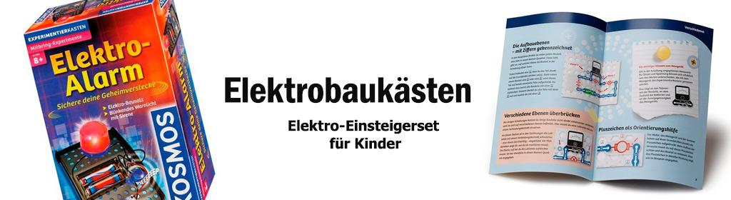 Elektrobaukästen Banner