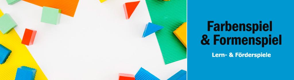 Farbenspiel & Formenspiel Banner