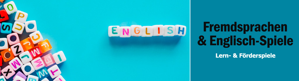Fremdsprachen & Englisch-Spiele Banner