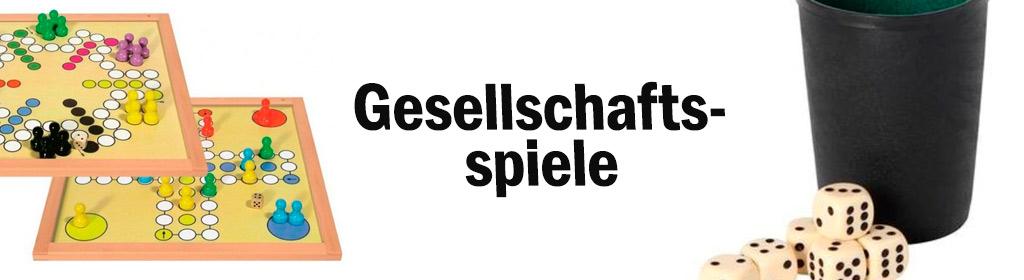 Gesellschaftsspiele Banner