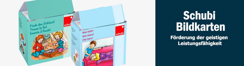 Schubi Bildkarten Banner