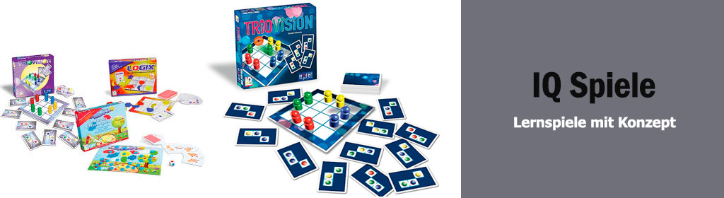 IQ Spiele Banner