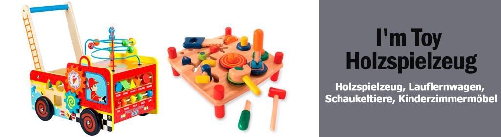 I'm Toy Holzspielzeug Banner