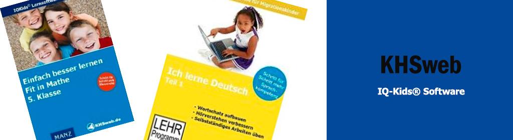 KHSweb IQ-Kids® Software Banner