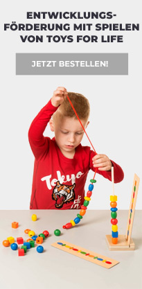 Toys for Life von Montessori Nienhuis