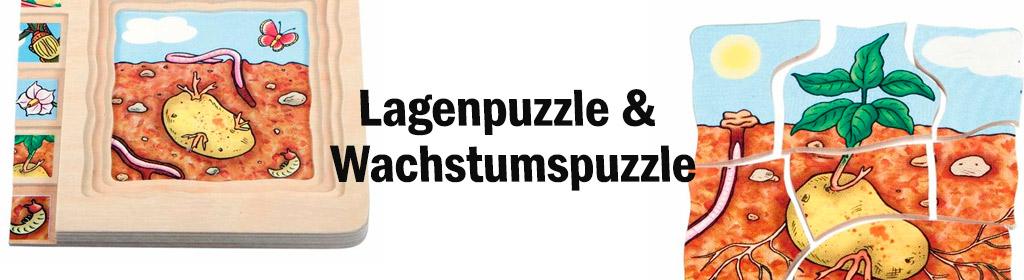 Lagenpuzzle & Wachstumspuzzle Banner