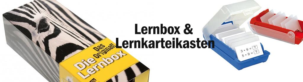 Lernbox & Lernkarteikasten Banner