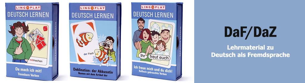 Deutsch als Fremdsprache / DaZ Banner