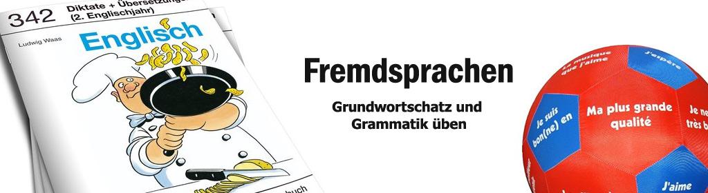 Fremdsprachen Banner