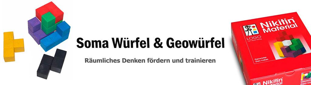 Soma Würfel & Geowürfel Banner