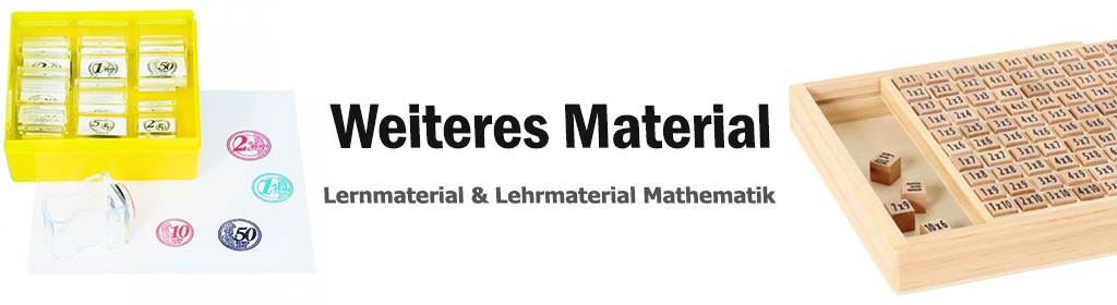 ... weiteres Mathe Material Banner