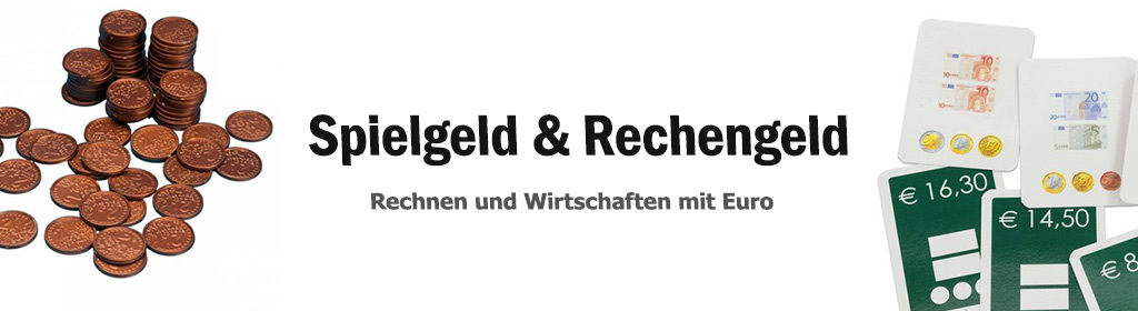 Spielgeld & Rechengeld Banner