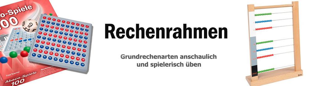 Rechenrahmen Banner
