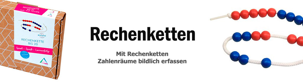 Rechenketten Banner