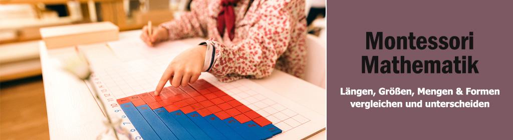 Montessori Mathematik Banner