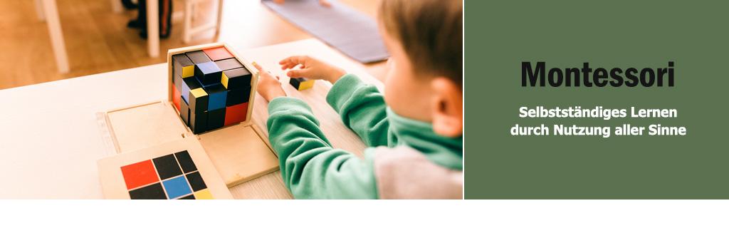 Montessori Material Banner