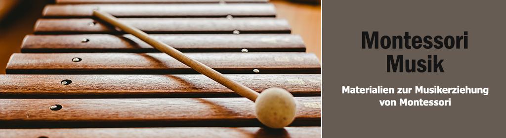 Montessori Musik Banner