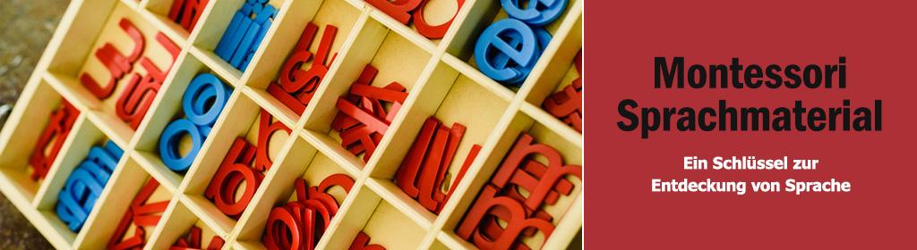 Montessori Sprachmaterial Banner