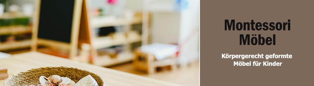 Montessori Möbel Banner