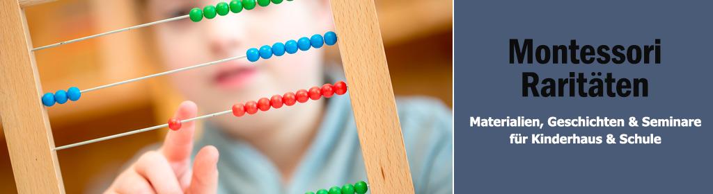 Montessori Raritäten Banner