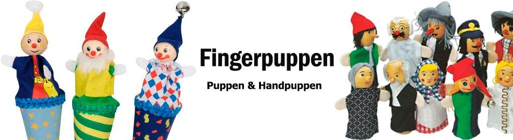 Fingerpuppen Banner