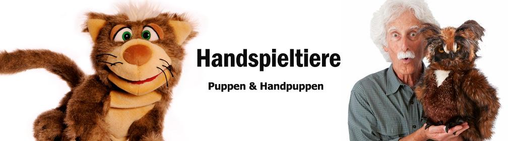 Handspieltiere Banner
