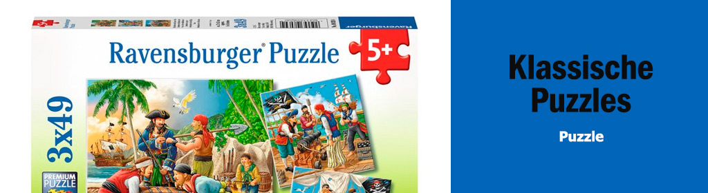 Klassische Puzzles Banner