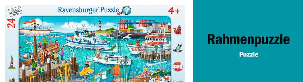 Rahmenpuzzle Banner