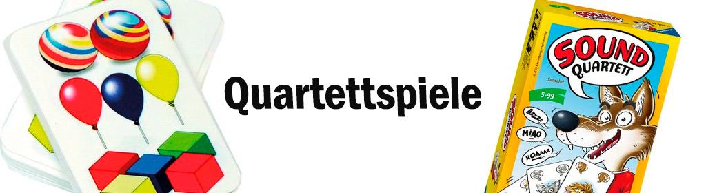 Quartettspiele Banner