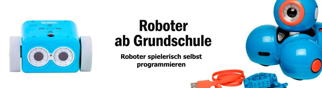 Roboter ab Grundschule Banner