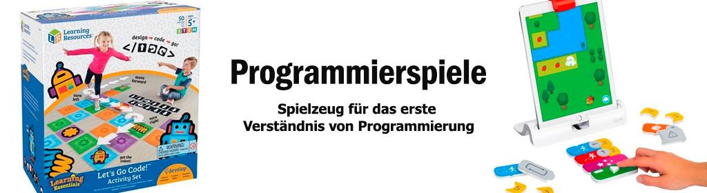 Programmierspiele Banner