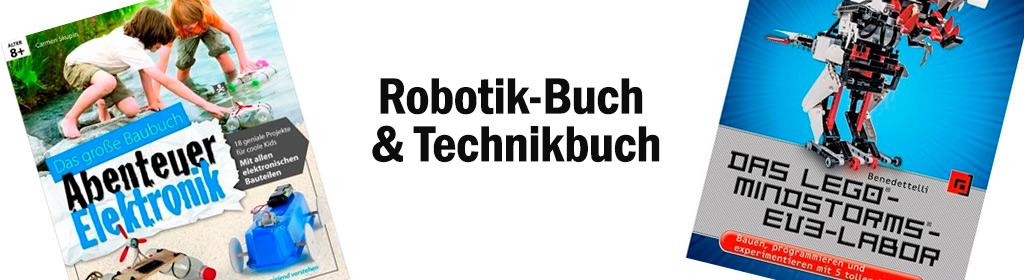 Robotik-Buch & Technikbuch Banner