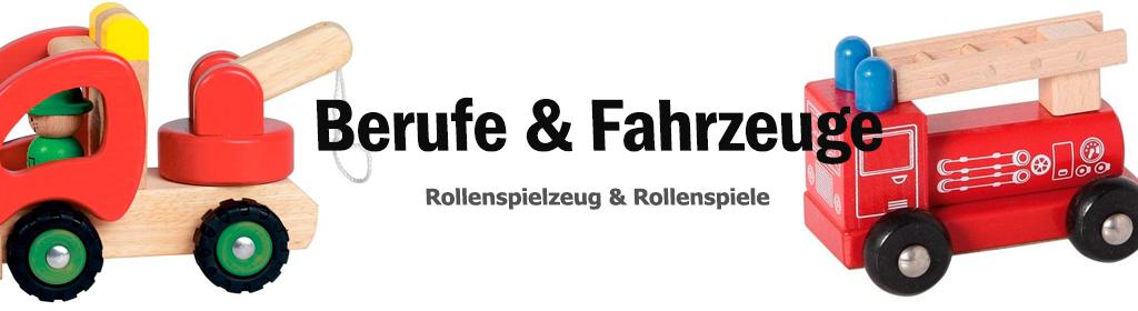 Berufe & Fahrzeuge Banner