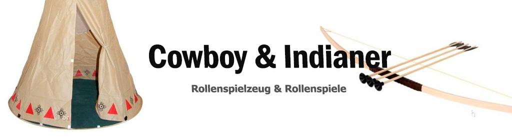 Cowboy & Indianer Banner