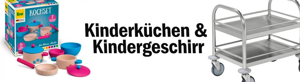 Kinderküchen & Kindergeschirr Banner