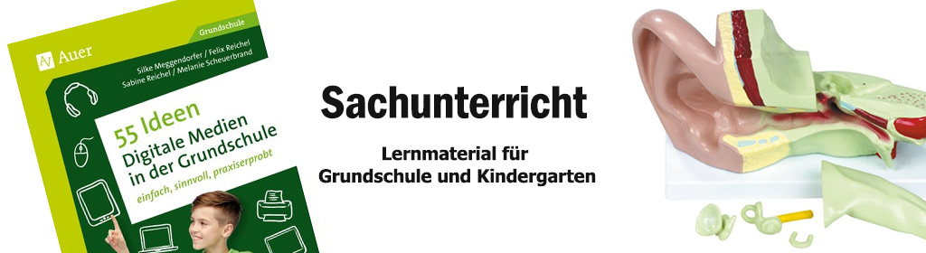 Sachunterricht Banner
