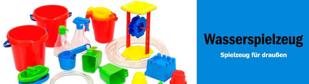 Wasserspielzeug Banner