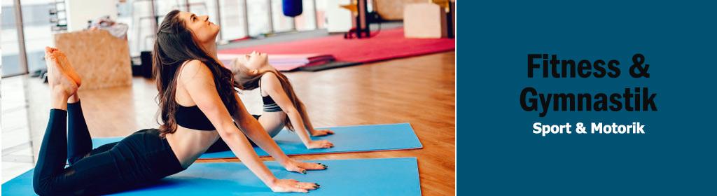 Fitness & Gymnastik Banner
